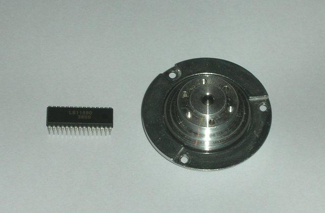 Внешний вид двигателя от HDD (двигателя от винчестера)