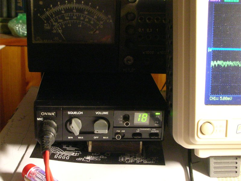 CB радиостанция 27МГц, Onwa