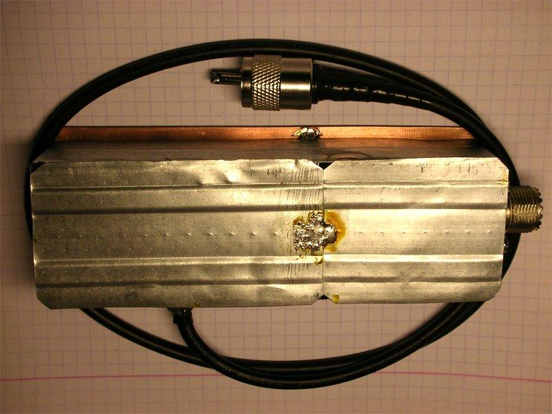 Фотография готового самодельного фильтра гармоник СиБи (ФНЧ)