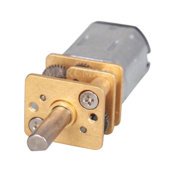 2 микро электро мотора с редукторами на напряжение 3 вольта за $15.90 на ebay.com