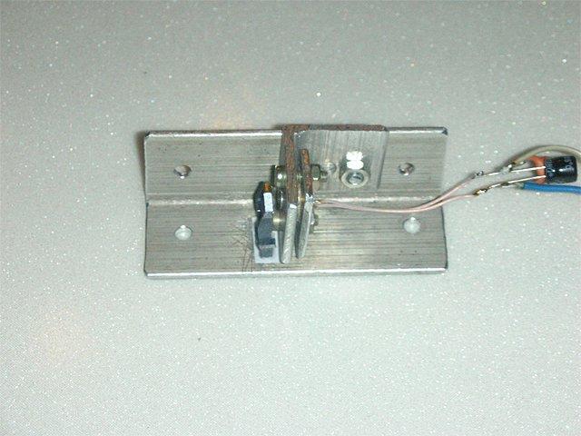 Вот так выглядит эта конструкция лазера в сборе