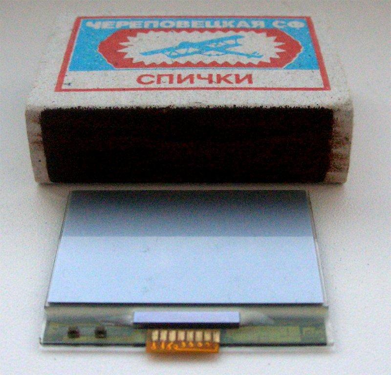 Фотография дисплея от Nokia 3310 / Nokia 3330