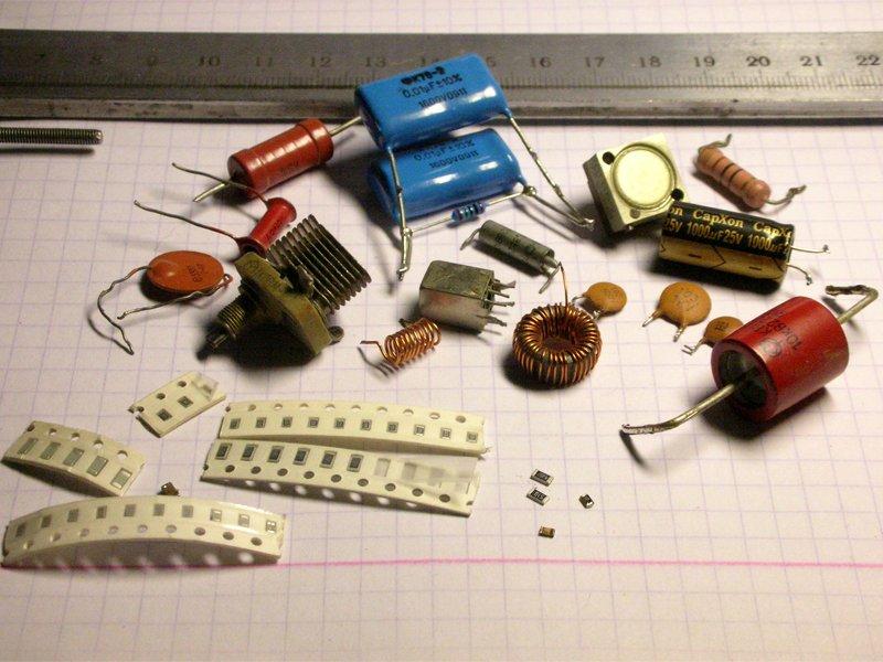 Радиодетали - о чём нужно знать и помнить при сборке схем электронных устройств