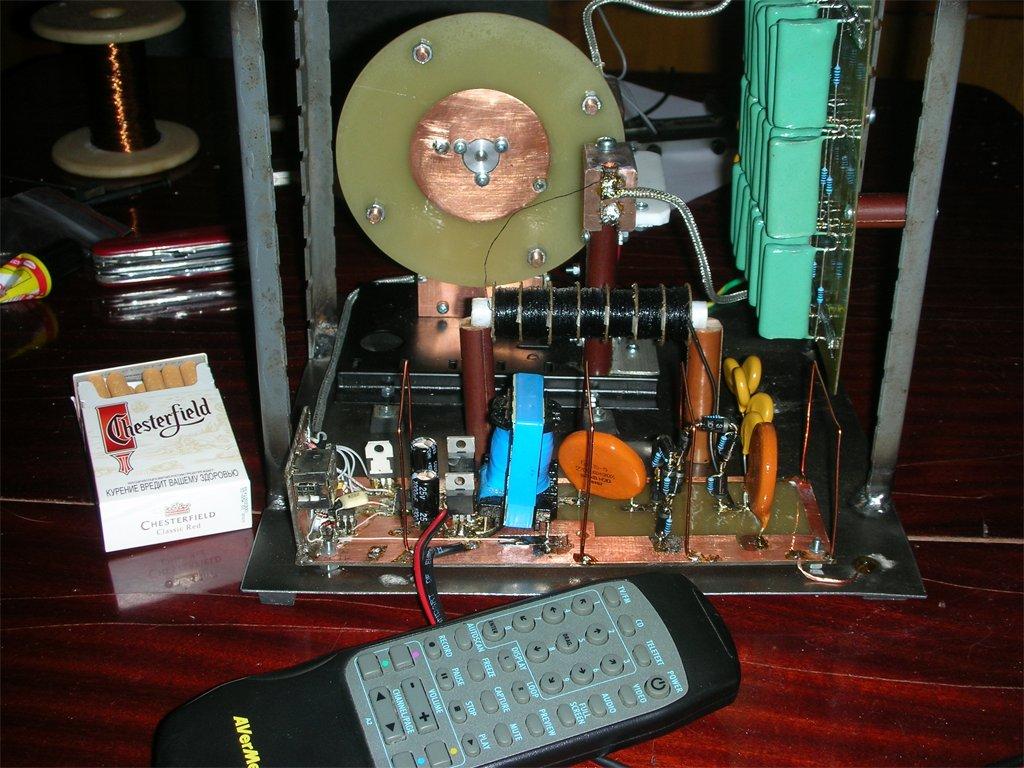 Преобразователь 12 вольт в 3,5 киловольта для трансформатора тесла