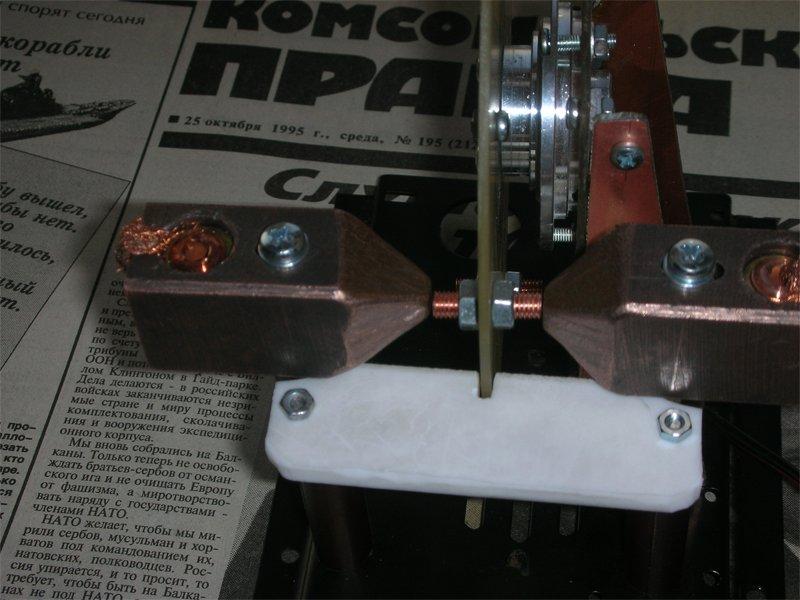 Роторный искровой разрядник - искровой промежуток в масштабе